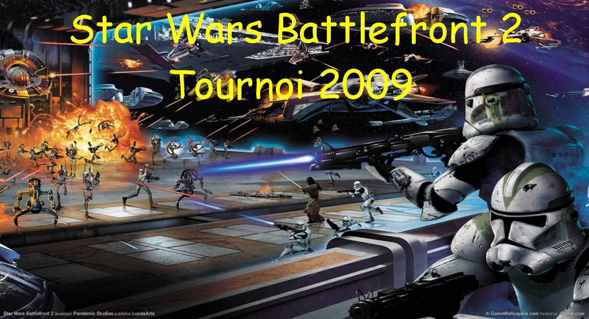 Tournoi Star Wars Battlefront 2 Index du Forum