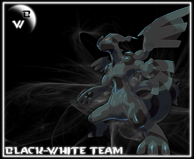 La team pokébip Black-White.  Index du Forum