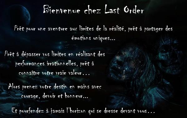 Last Order Index du Forum