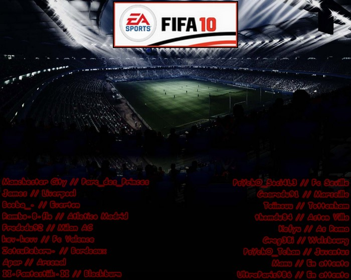 tournoi fifa10 Index du Forum