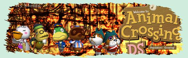 Animal Crossing : Wild World Index du Forum