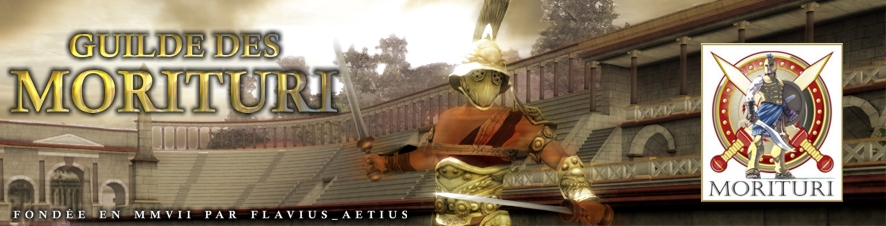 Morituri, une guilde de Gladiatus Index du Forum