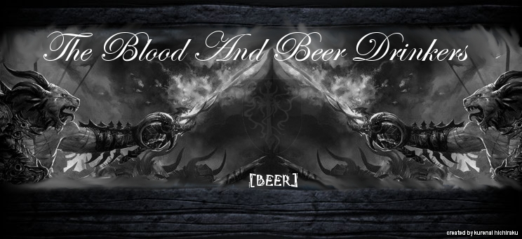 The Blood and Beer Drinkers Index du Forum