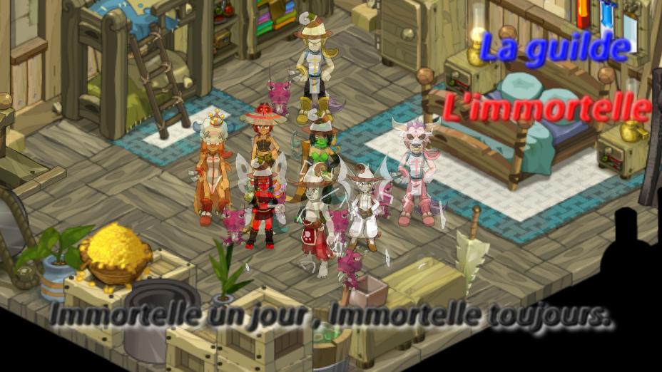 La guilde l'immortelle Index du Forum