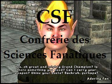 § CSF § Confrérie des Sciences Fanatiques Index du Forum